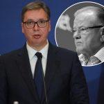 """Predsednik Vučić se oprostio od Dude Ivkovića: """"Srbija tuguje, generacije ga pamte"""""""