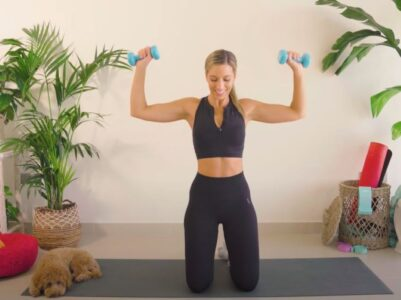 Kako da za dve nedelje zategnete ruke? Šest minuta efikasnih kućnih vežbi (VIDEO)
