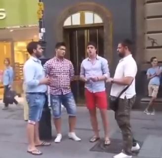"""Ori se """"Suza Kosova"""" u centru Beča: Mladići ODUŠEVILI Austrijance svojim nastupom (VIDEO)"""