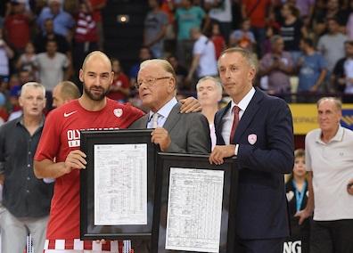 Legenda evropske košarke rekla poslednje zbogom Dudi Ivkoviću: Učitelju, sve reči su male pred tobom!