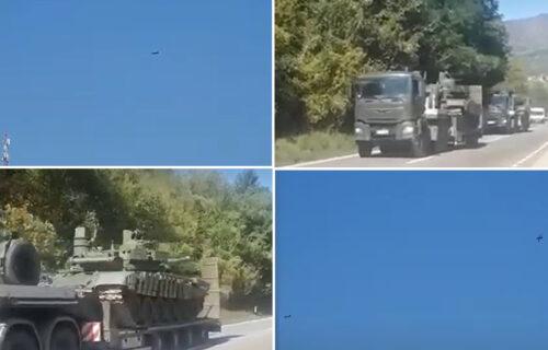SRPSKI migovi nadleću Jarinje, stižu i tenkovi: Narod na Kosmetu ODUŠEVLJEN (VIDEO)