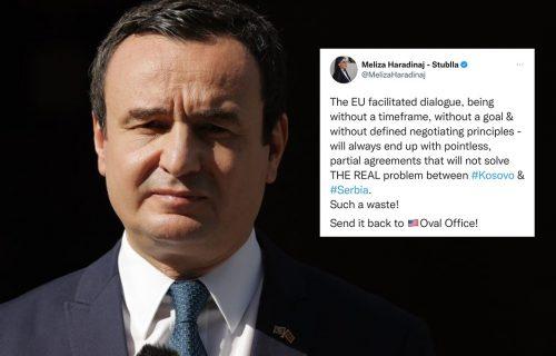 """HAOS u Prištini posle Vučićeve pobede: Bivša ministarka NAPALA Kurtija - """"protraćio si vreme"""" (FOTO)"""