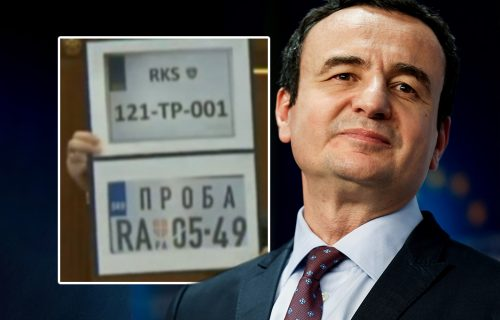 Kurti maše tablicama: Ovo su SRAMNE OZNAKE koje nameću Srbima na KiM (FOTO)