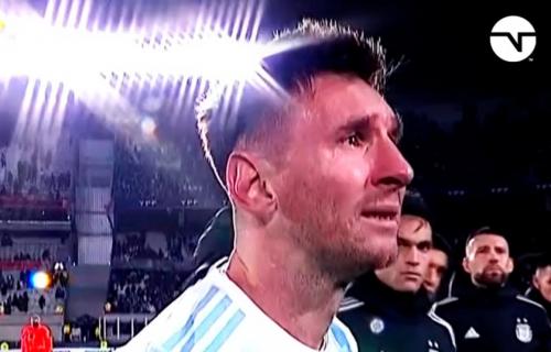 Suze Lea Mesija obišle svet: Argentinac ispisao istoriju fudbala, pa se emotivno slomio (VIDEO)