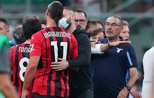 Težak udarac za Lacio: Sari suspendovan zbog ponašanja na utakmici sa Milanom (VIDEO)