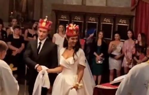 Čarobno: Očaravajuća fotka sa venčanja Milice Mandić