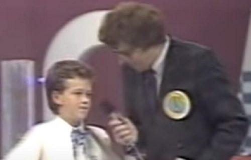Naš poznati pevač svoj PRVI NASTUP imao je u emisiji Minje Subote: Tada je bio dečak od 13 godina (VIDEO)