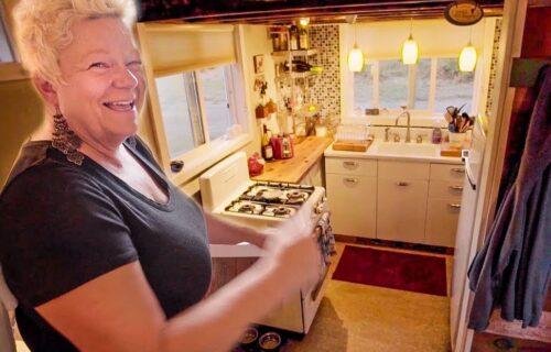Samohrana majka SAMA napravila svoju kućicu iz snova: Ima 18,5 kvadrata i svi pričaju o njoj! (VIDEO)