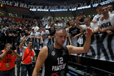Kapiten rekao zbogom: Partizan srušio šampiona Evrope za Novicu i Dudu (VIDEO)