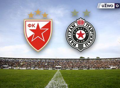 (UŽIVO) Evropski derbi u Humskoj: Partizan sa vrha dočekuje Crvenu zvezdu
