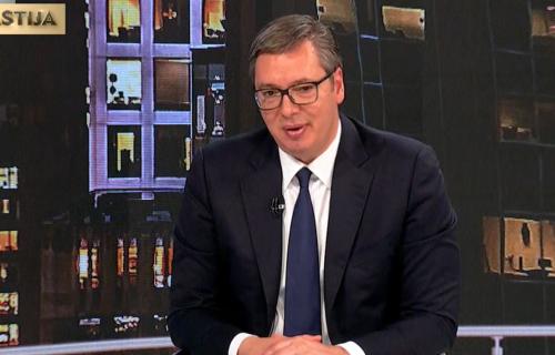 Vučić: Srbija da zvecka oružjem? Pa to čak ni Kurti ne sme da kaže, a govori Đilas preko tuđih usta