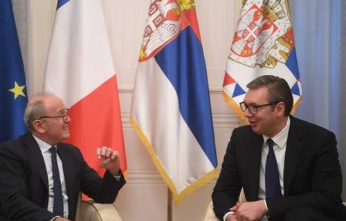 Vučić sa Falkonijem: Francuska uvek može da RAČUNA na Srbiju kao iskrenog prijatelja (FOTO)