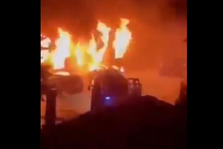 UŽAS u Tetovu: Izgorela kovid bolnica, ima ŽRTAVA, hitne službe na terenu! (VIDEO)