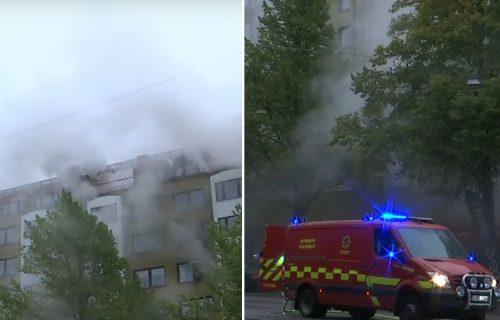 UŽASNA eksplozija u Švedskoj: Više od 20 POVREĐENIH, tri žene teško (FOTO+VIDEO)