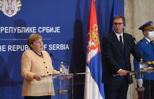 Promenila odnos prema Srbiji: Merkelova je BESNELA sa Tadićem, a danas je SRDAČNO razgovarala sa Vučićem