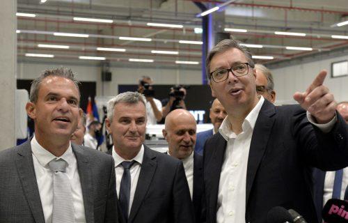 Svečano otvorena fabrika u Svilajncu: Posao za 130 ljudi, prisustvovao predsednik Vučić (VIDEO)