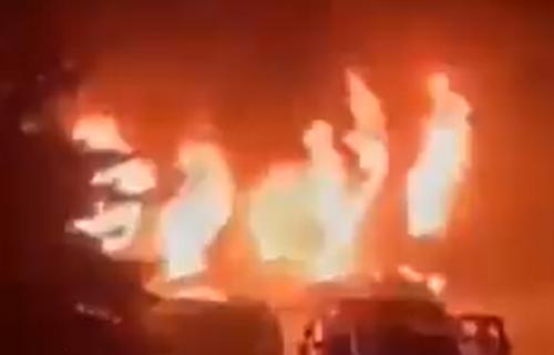 U Tetovu najmanje 14 ŽRTAVA, oglasio se Zaev: Evo šta je UZROK stravičnog požara u kovid bolnici (VIDEO)