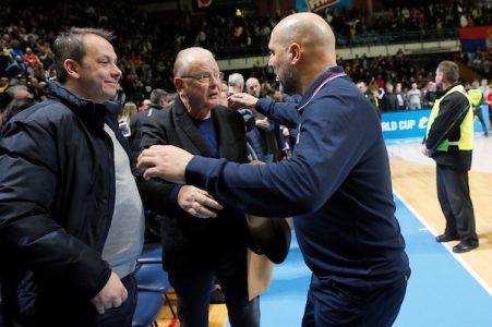 Sale Đorđević se oprostio od Dude Ivkovića: Velike reči o velikom čoveku i treneru (FOTO)