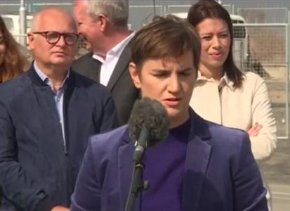 "Ana Brnabić reagovala na SKANDALOZAN tekst Đilasovog kuma: ""Reći ću dve reči – JADNO, bedno"" (VIDEO)"