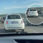 "BAHATO ponašanje na mostu na Adi: Prizor RAZBESNEO Beograđane - ""stoka seljačka, najgore vrste"" (VIDEO)"
