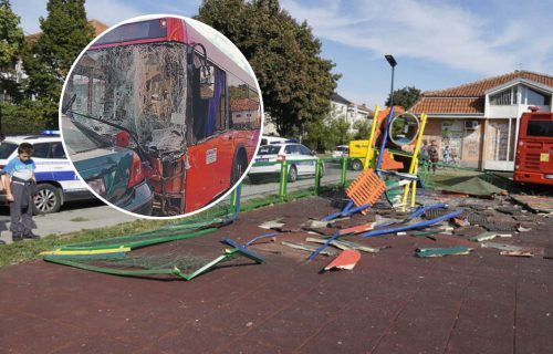 Evo šta se dešava sa vozačem autobusa koji je uleteo u park u Zemunu: Advokat ulaže ŽALBU na pritvor