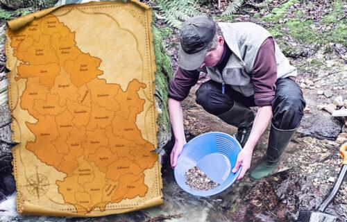 Srbija leži na ZLATU: Objektiv donosi mapu skrivenog BLAGA i smernice kako da se dođe do njega (FOTO)