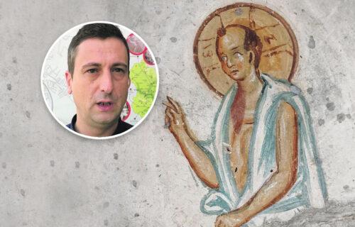 Objektiv razotkriva tajne ĆELAVOG ISUSA: Čudesna freska, jedina na svetu, može da se vidi samo kod Pirota