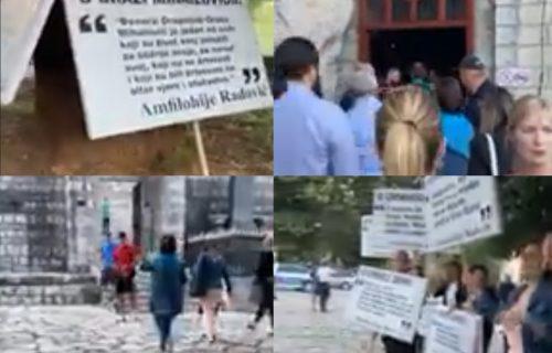 NAPADNUT Cetinjski manastir! Veći incident sprečila policija (VIDEO)