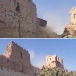 UŽAS! Talibani UNIŠTAVAJU kulturno nasleđe: Hteli da sagrade medresu, pa SRUŠILI tvrđavu (VIDEO)