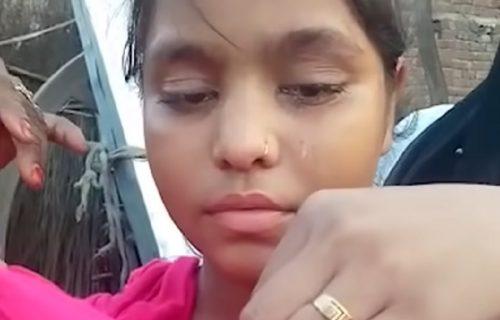 Kad god devojčica zaplače, iz oka joj umesto suza ispada OVO: Lekari sumnjaju na UŽASNU stvar