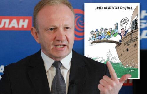Đilas preko svog nedeljnika poručuje: Ne puštajte ODVRATNU srpsku himnu našoj deci! (FOTO)