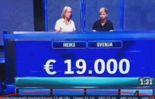 Na nemačkoj televiziji objavili rezultate 2 dana PRE IZBORA: Šta bi bilo da se to desi u Srbiji? (VIDEO)
