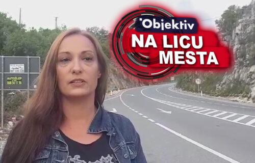 """Ekipa Objektiva ZAUSTAVLJENA na putu za Cetinje: """"Opšti HAOS, suzavac se oseća na pet kilometara"""" (VIDEO)"""