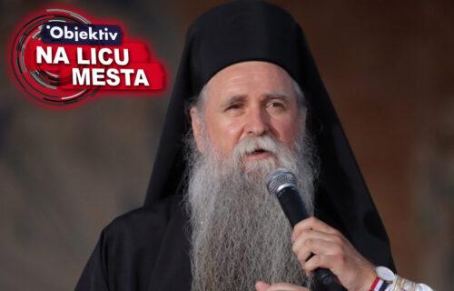 Mitropolit Joanikije se OBRATIO okupljenima: Narod koji se objedinio da brani veru ZABLISTAO je i izašao