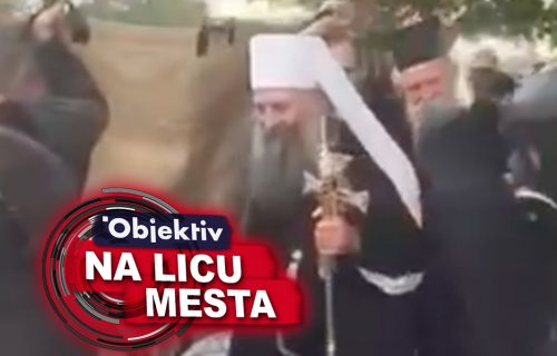 EKSKLUZIVNO: Prvi snimak mitropolita Joanikija i patrijarha Porfirija sa ustoličenja! (VIDEO)