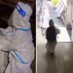 Snimak ekstremnih mera izolacije u Kini RASTUŽIO svet: Dečak u skafanderu SAM odlazi u karantin (VIDEO)