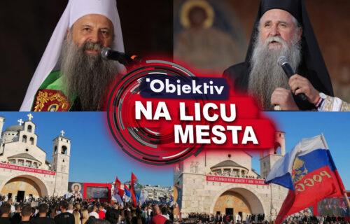 Patrijarh Porfirije održao GOVOR u Podgorici: Poglavar SPC ispraćen uz VATROMET (VIDEO)