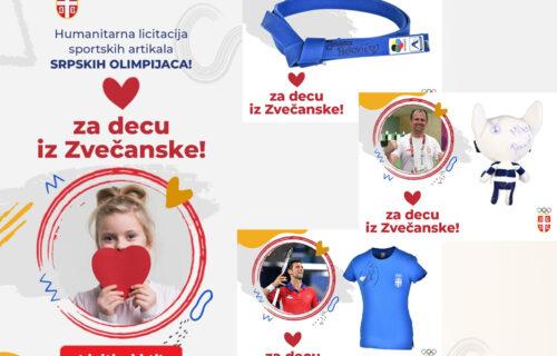 Želite Novakovu majicu ili Jovanin pojas? Učestvujte na aukciji i pomozite deci iz Zvečanske (FOTO)