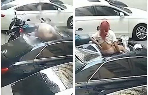 """Ljubavnica tokom ODNOSA pala sa terase: """"Čuli smo glasan tresak"""" - moraće da PLATI odštetu (FOTO+VIDEO)"""