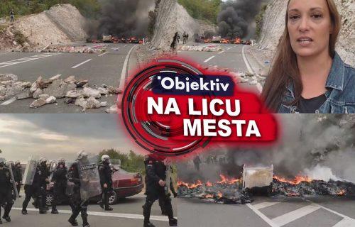Gori na barikadama na Cetinju: Komite pale gume, pokrenute MAŠINE za raščišćavanje nereda (VIDEO)