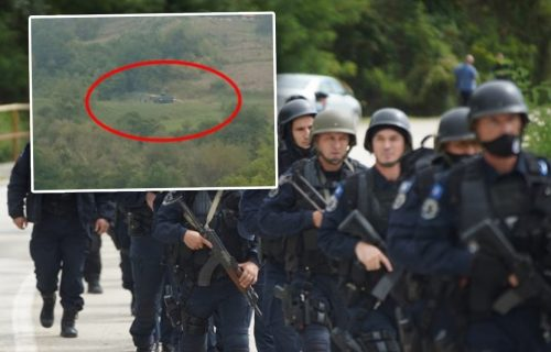 Pripadnici policije tzv. Kosova UPERILI PUŠKE u vozača u Brnjaku: Uznemireni očevici sve potvrdili (FOTO)