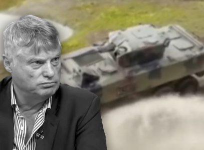 Lazanski na nebu, OKLOPNO vozilo na zemlji: Pokojni ambasador ulazi u ISTORIJU Srbije (FOTO)