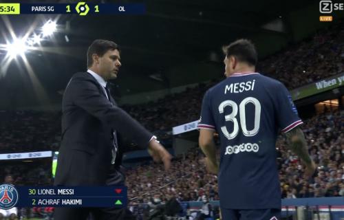 Mesi pobesneo zbog izmene: Leo ljutito pogledao ka Poketinu i iskulirao trenera PSŽ-a (VIDEO)