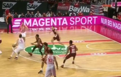 Srce šampiona: Pogledajte kako je Luka Mitrović doneo pobedu Zvezdi u poslednjoj sekundi (VIDEO)