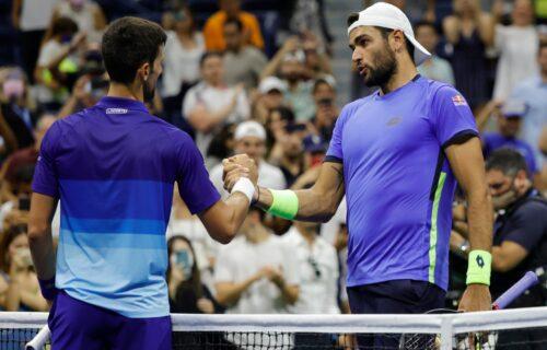 Italijan je veliki gospodin: Divne reči Matea Beretinija o Đokoviću posle četvrtfinala US opena!