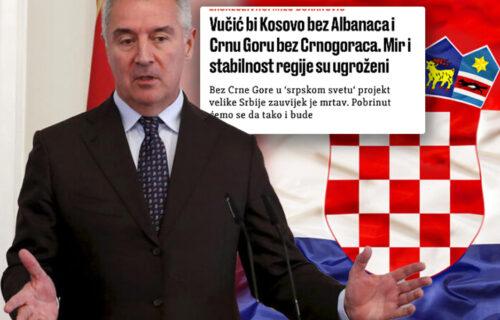 Đukanović i Hrvati ne miruju, Srbe porede sa nacistima! Tuku po Vučiću jer štiti svoj narod
