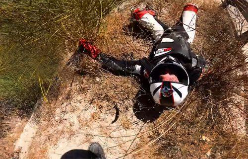 Pokušao da obiđe Minija, pa završio SLOMLJEN na ivici provalije: Stravična nesreća kao opomena (VIDEO)