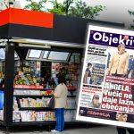 Danas u novinama Objektiv: Vučić ne daje lažna obećanja, Srbi časte Kineze da prežive (NASLOVNA STRANA)