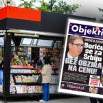 Danas u novinama Objektiv: Vučić se bori za Srbiju, Kurti i Plenković udarili na Srbe (NASLOVNA STRANA)