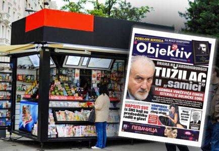 Sutra u novinama Objektiv: Vukčević umalo linčovan, Duda otišao u legendu… (NASLOVNA STRANA)